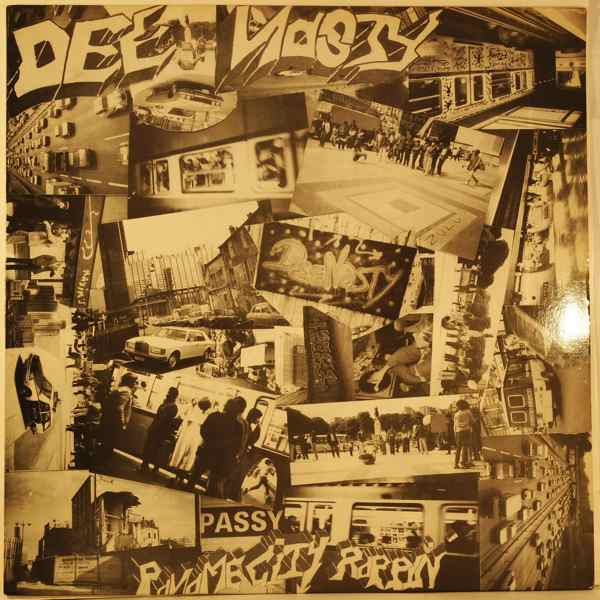 DEE NASTY - Paname City Rappin' - 33T