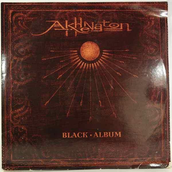 AKHENATON - Black Album - LP x 3