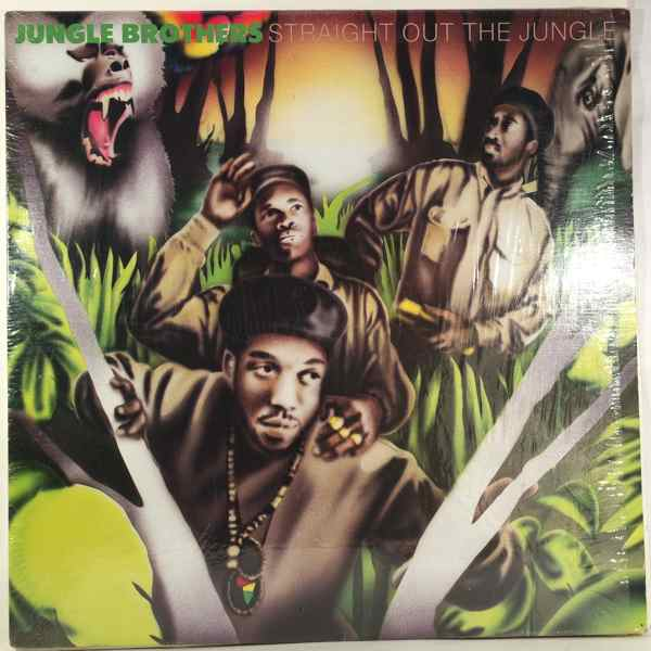 JUNGLE BROTHERS - Straight Out The Jungle - LP