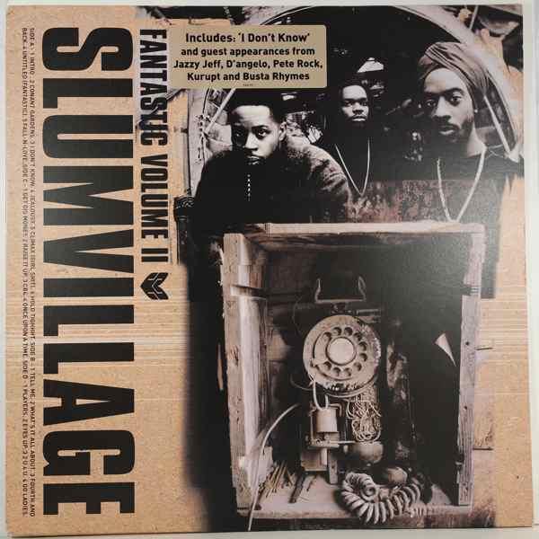 SLUM VILLAGE - Fantastic Volume II - LP x 2