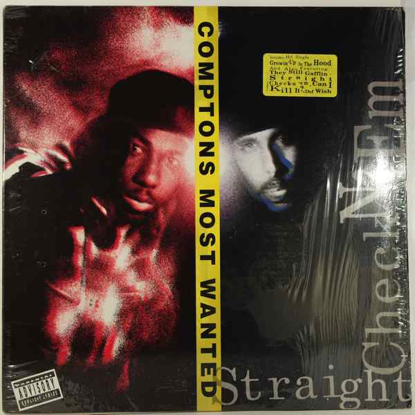 COMPTONS MOST WANTED - Straight Checkn 'Em - LP