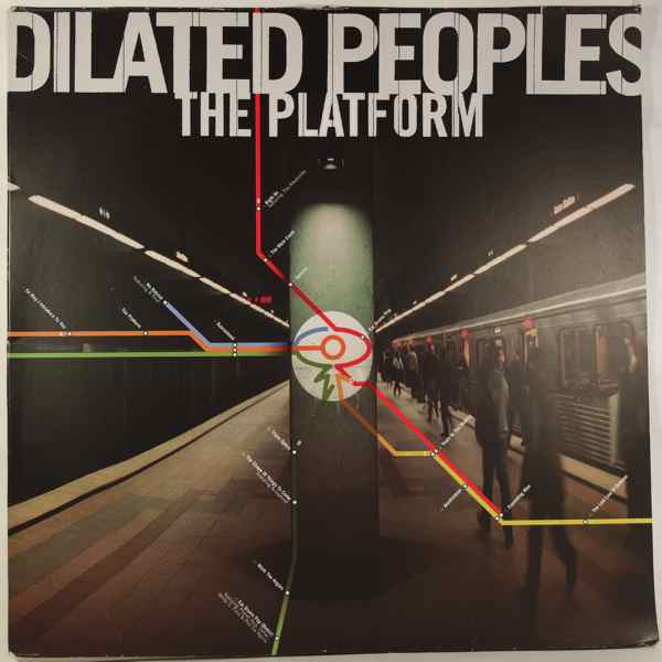 DILATED PEOPLE - The Platform - LP x 2