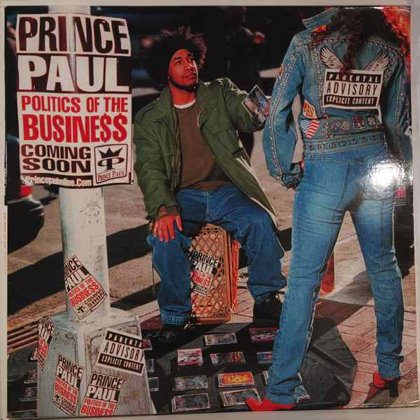 PRINCE PAUL - Politics Of The Business - LP x 2
