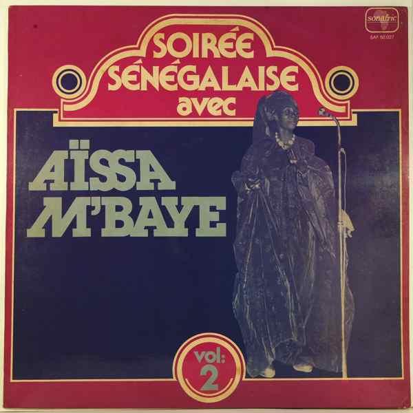 AISSA M'BAYE - Soiree Senegalaise Vol.2 - LP