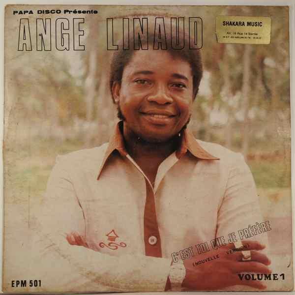 ANGE LINAUD - C'est toi que je prefere Volume 1 - LP