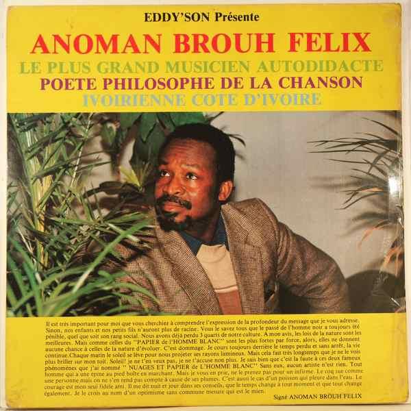 ANOMAN BROUH FELIX - Eddy'son presente - LP