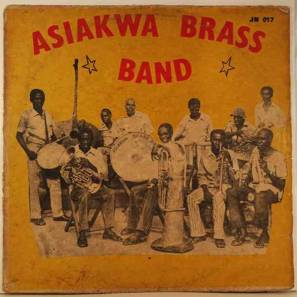 ASIAKWA BRASS BAND - Same - LP