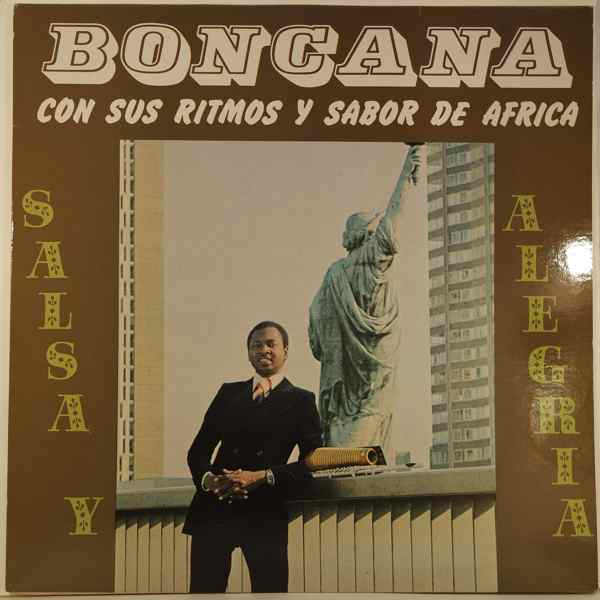 BONCANA MAIGA - Salsa y alegria - LP