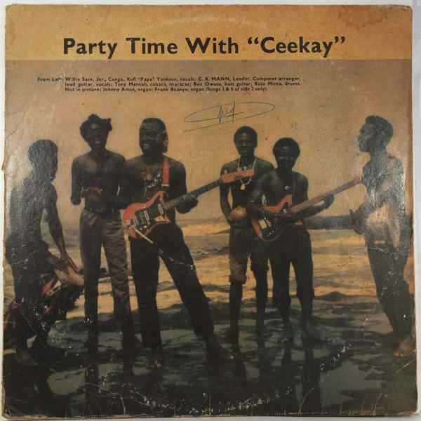 C.K MANN - Party time with 'ceekay' - LP