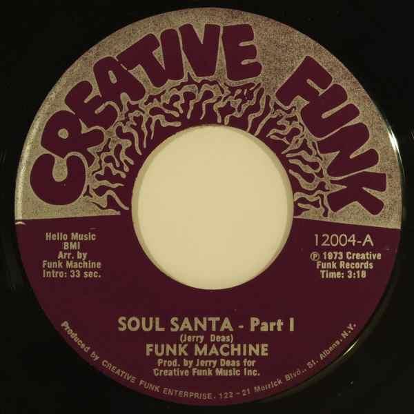 FUNK MACHINE - Soul santa - 7inch (SP)