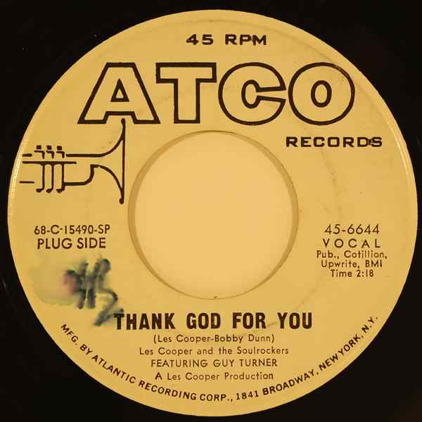 LES COOPER AND THE SOULROCKERS - Gonna have a lot of fun/Thank God for you - 7inch (SP)