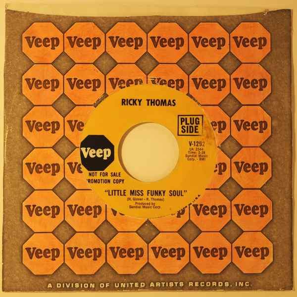 RICKY THOMAS - Little miss funky soul - 7inch (SP)