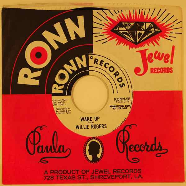 WILLIE ROGERS - Wake up - 7inch (SP)