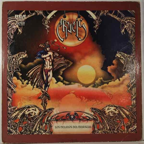 CRUCIS - Los Delirios Del Mariscal - LP