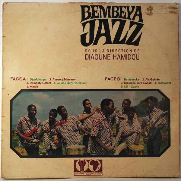 BEMBEYA JAZZ - Sous la direction de Diaoune Hamidou - LP