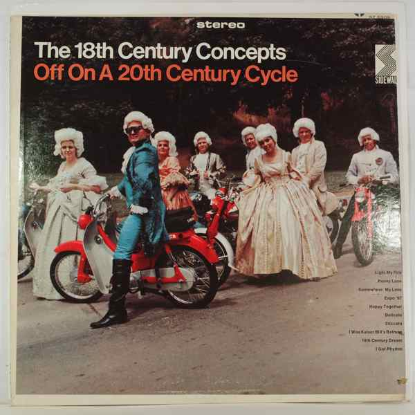 THE 18TH CENTURY CONCEPTS - Off On A 20th Century Cycle - LP
