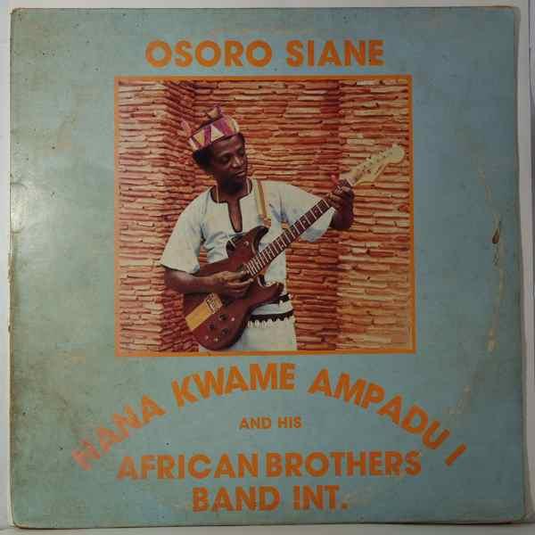 Nana Kwame Ampadu Osoro siane