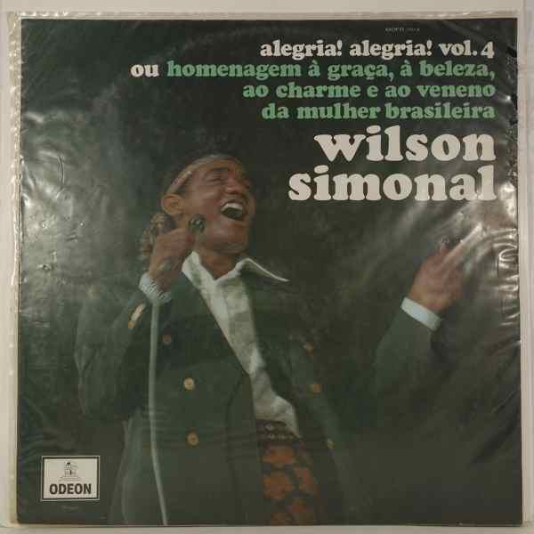 WILSON SIMONAL - Alegria! Alegria! Vol. 4 - LP