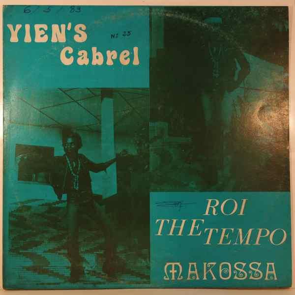 YIEN'S CABREL - Roi du Temp Makossa - 33T