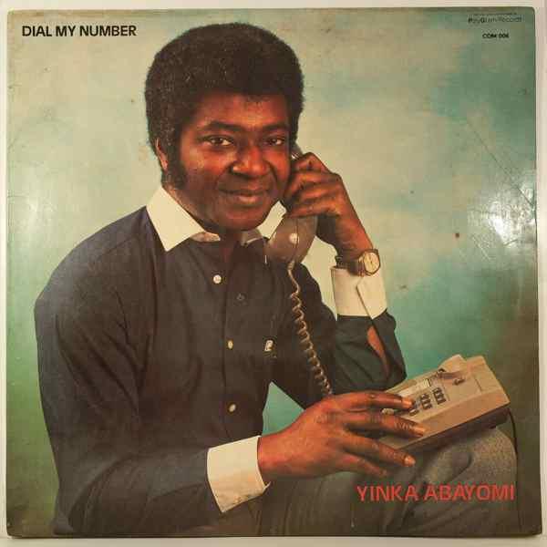 YINKA ABAYOMI - Dial my number - LP