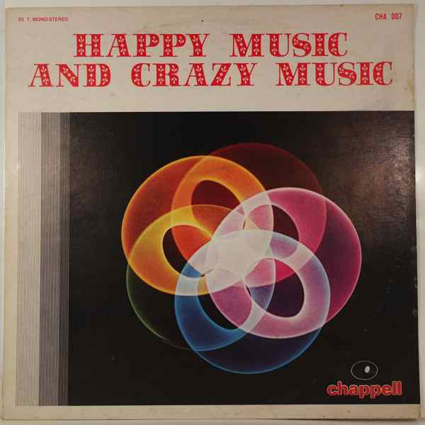DAVID PERIAN ORCHESTRA - Happy Music And Crazy Music - LP