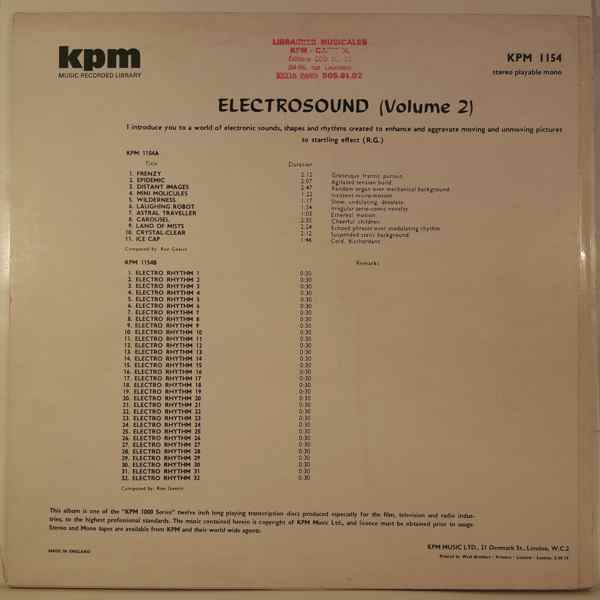 Ron Geesin Electrosound (Volume 2)