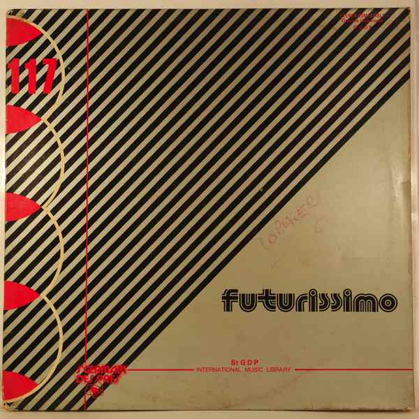 EGISTO MACCHI - Futurissimo - LP