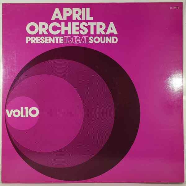 GIULIANO SORGINI - April Orchestra Presente RCA Sound Vol. 10 - LP