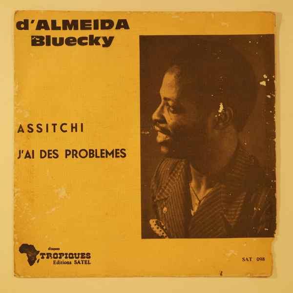D'ALMEIDA BLUECKY - Assitchi / J'ai des problmes - 7inch (SP)