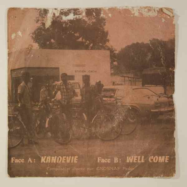 GNONNAS PEDRO - Kandevie / Well come - 45T (SP 2 titres)