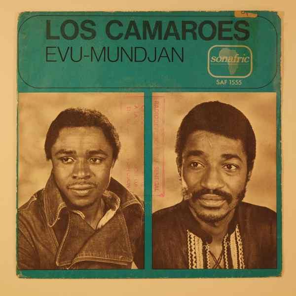 LOS CAMAROES - Evu / Mundjan - 7inch (SP)