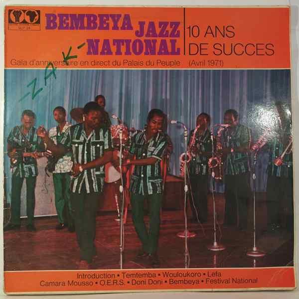 BEMBEYA JAZZ NATIONAL - 10 ans de succs - LP