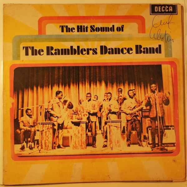 THE RAMBLERS DANCE BAND - The hit sounds - 33T