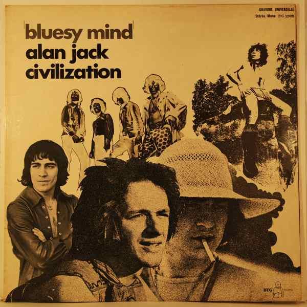 ALAN JACK CIVILIZATION - Bluesy Mind - LP