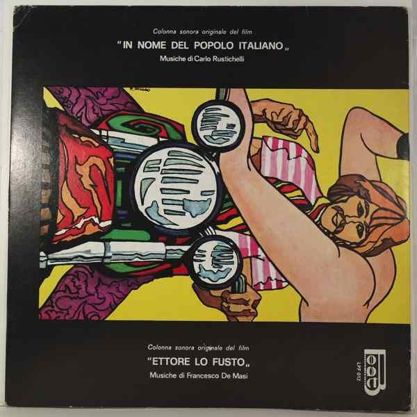 CARLO RUSTICHELLI / FRANCESCO DE MASI - In Nome Del Popolo Italiano / Ettore Lo Fusto - LP