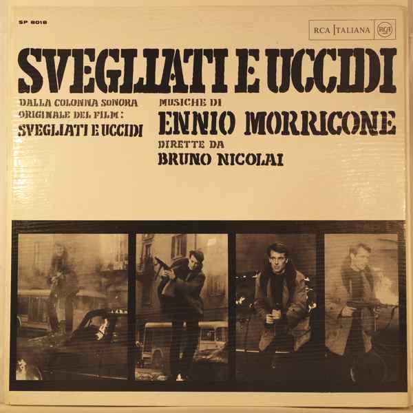 ENNIO MORRICONE - Svegliati E Uccidi - LP