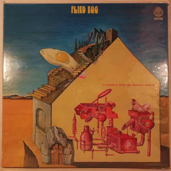 FLIED EGG - Dr. Siegel's Fried Egg Shooting Machine - LP