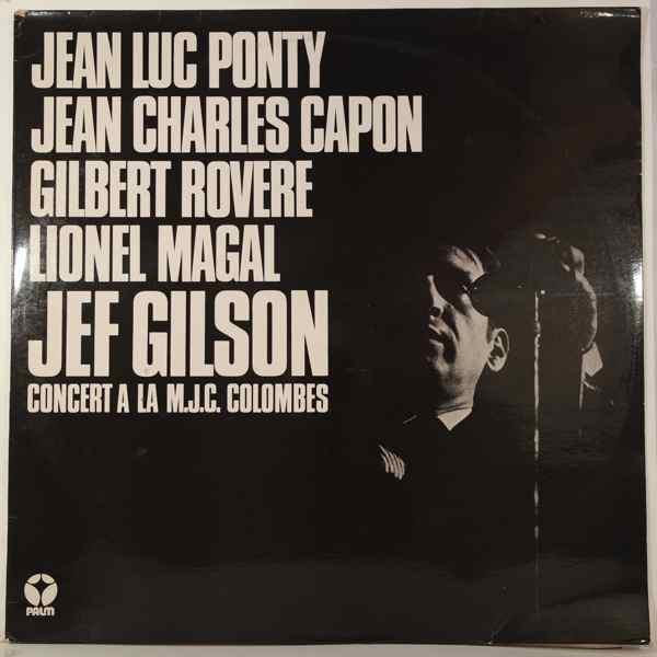 JEF GILSON - Concert Ë La M.J.C. Colombes - LP
