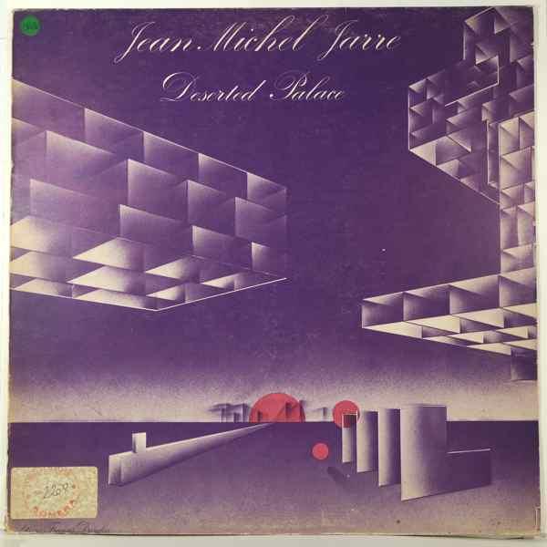 JEAN MICHEL JARRE - Deserted palace - LP