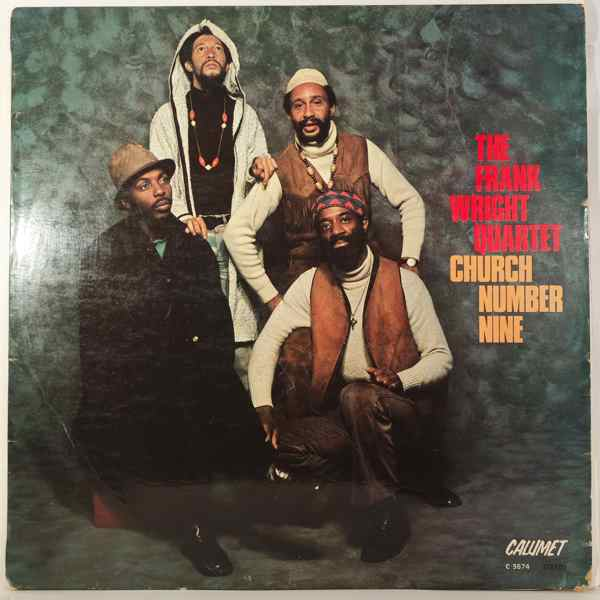 THE FRANK WRIGHT QUARTET - Church number one - LP