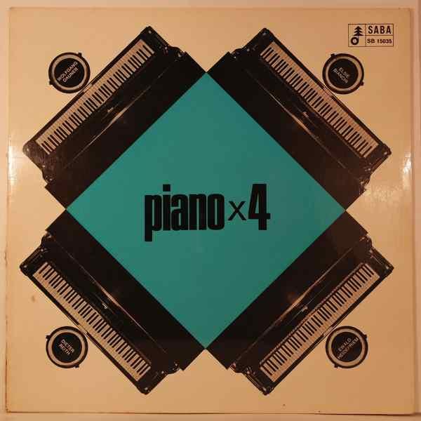 VARIOUS - Piano X 4 - LP