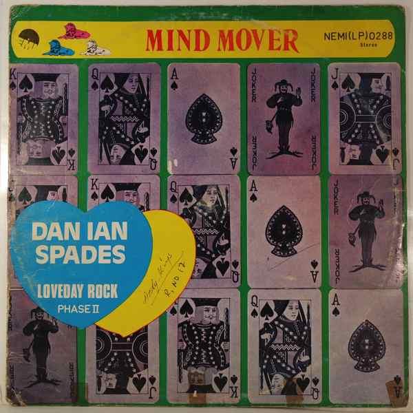 DAN IAN SPADES - Mind mover - LP