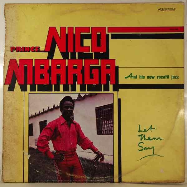 PRINCE NICO MBARGA - Let them say - LP