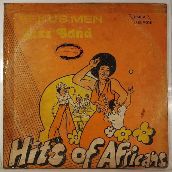 SEKUS MEN JAZZ BAND - Hits of Africa - LP