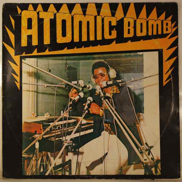 WILLIAM ONYEABOR - Atomic bomb - LP