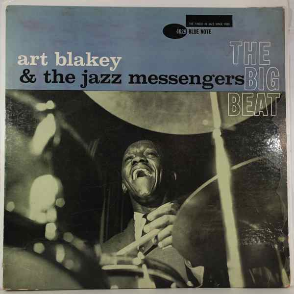 ART BLAKEY AND THE JAZZ MESSENGERS - The Big Beat - LP