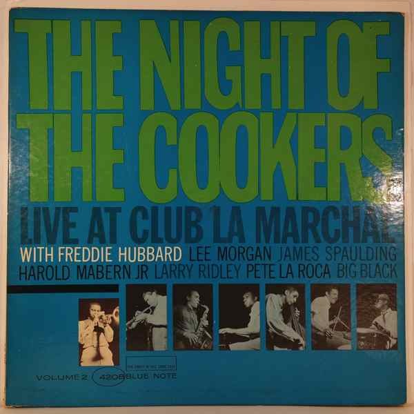 FREDDIE HUBBARD - The Night Of The Cookers Volume 2 - LP