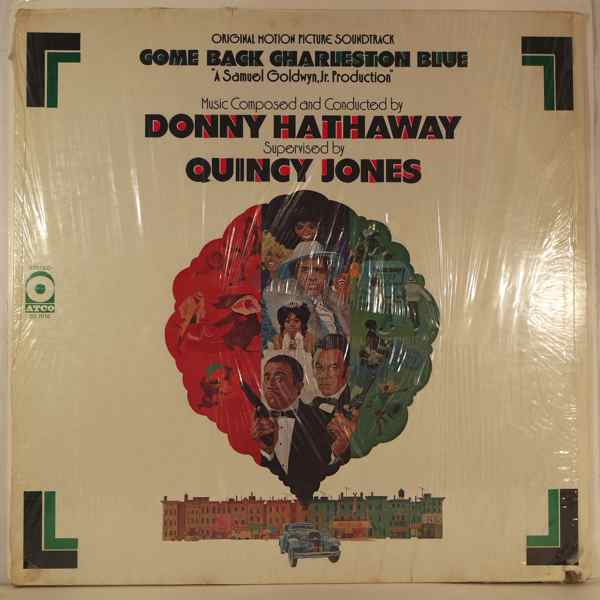 DONNY HATHAWAY - Come Back Charleston Blues - LP