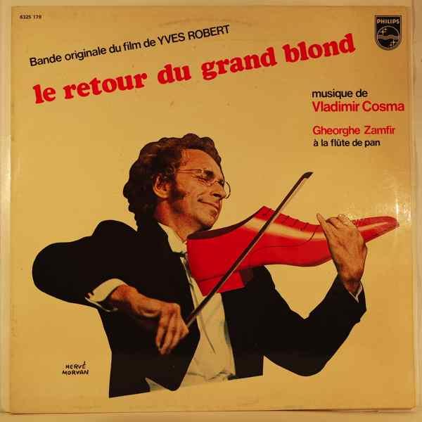 VLADIMIR COSMA - Le Retour Du Grand Blond - LP