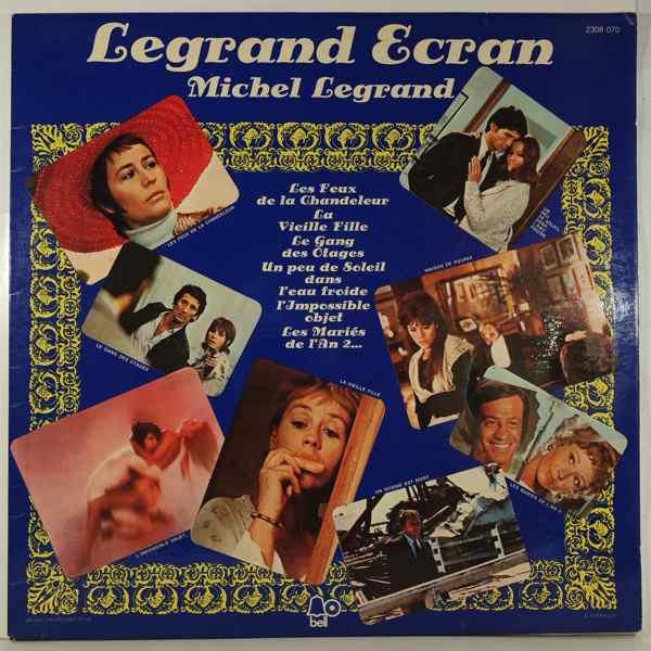 MICHEL LEGRAND - Legrand Ecran - LP